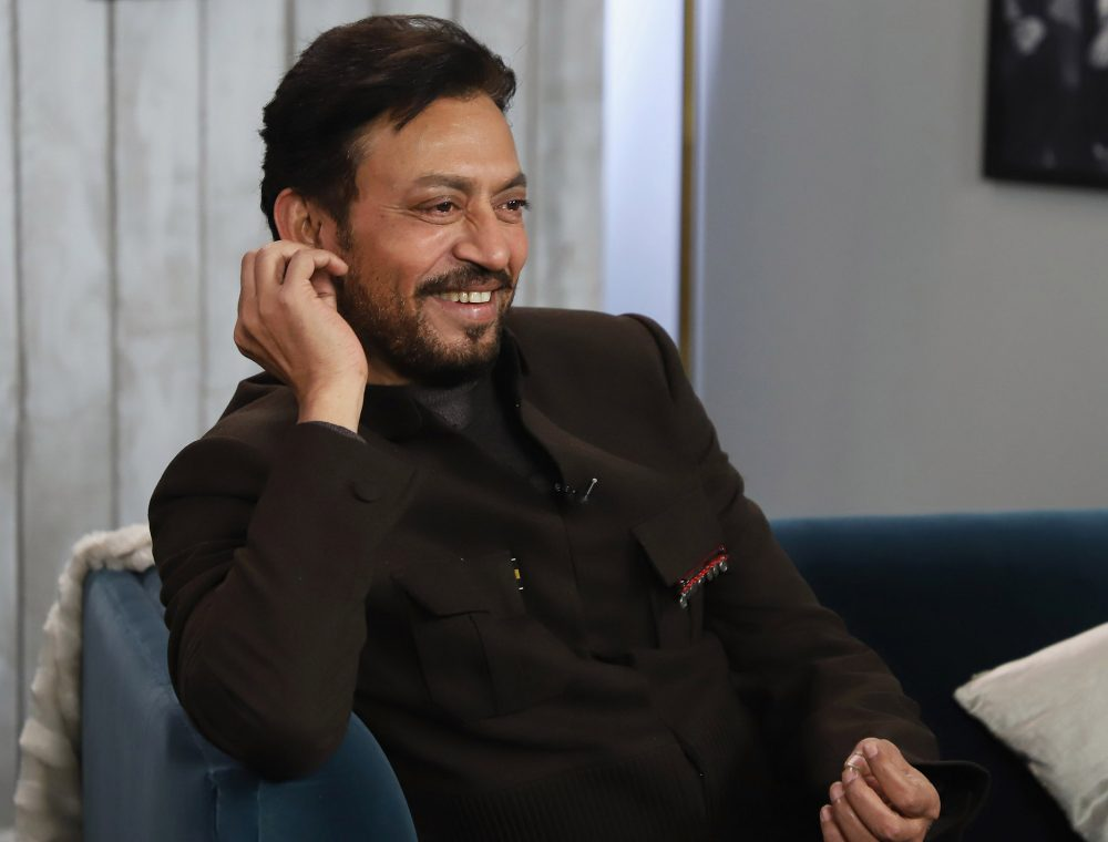 PARK CITY, UT - JANUARY 22:  Irrfan Khan from 'Puzzle' attends The Hollywood Reporter 2018 Sundance Studio at Sky Strada, Park City on January 22, 2018 in Park City, Utah.  (Photo by John Parra/Getty Images for for The Hollywood Reporter)